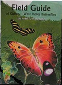 China Field Guide of Cuban - West Indies Butterflies BK1132 on sale