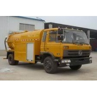 Cleaning sewage suction truck