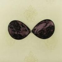 China Adhesive lace bra strapless lace cloth ladies bra for a perfect breast shape on sale