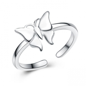 China 925 Sterling silver popular butterfly ring on sale