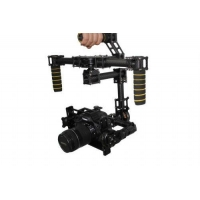 3-axis Carbon Fiber Handheld Brushless Gimbal Camera Mount with Hollow Motor
