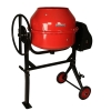 China CONSTRUCTION MACHINERY Name 160 liter capacity portable cement mixer for sale