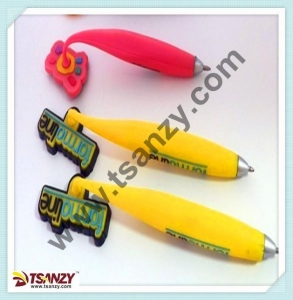 China 3D cartoon advertising magnetic ballpoint Pen on sale