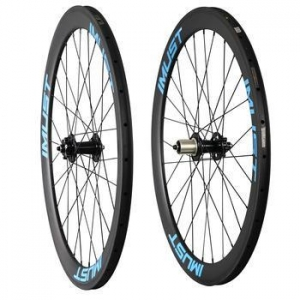 China China 700c disc brake cyclocross wheel disc carbon wheel with disc powerway hub 28H on sale