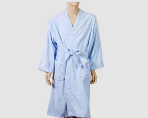 China Men Bamboo Bathrobe on sale