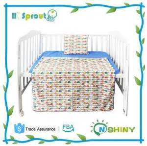 China Elephant Design Boy Type Baby Cotton Bed Linen on sale