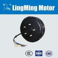 13 inch 6kw brushless wheel dc hub motor for electric car