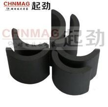 China high quality strong arc segment ferrite magnets on sale
