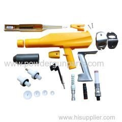 China manual electrostatic powder coating spray gun easy to clean and portable on sale
