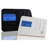 China Touch Keypad Wireless GSM Alarm System for sale