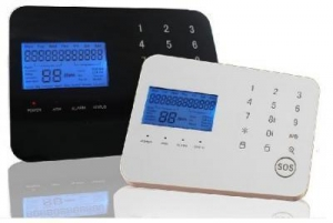 China Touch Keypad Wireless GSM Alarm System on sale