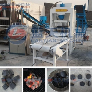 China Hydraulic bamboo charcoal briquette machine on sale