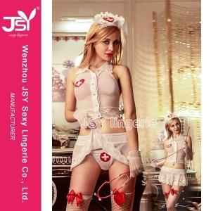 China Bunny & Catwoman Nurse Girl Sexy Costume Lingerie on sale