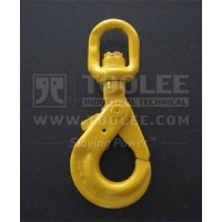 1212-Safety Hook Swivel Type With Self-Locking Latch G80 U.S.Type