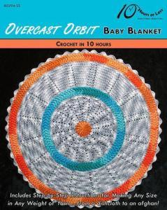 China CROCHET PATTERNS OVERCAST ORBIT Baby Blanket on sale