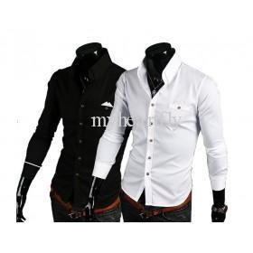 China New arrival shirts!2013 spring men's classic new slim fit cotton long sleeve shirts shirt size M-XXL on sale