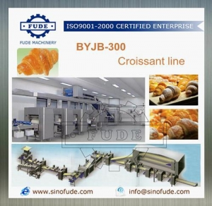 China BYJB 300 Croissant line on sale