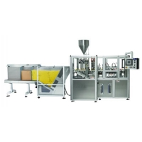 Toothpaste Tube Filling and Sealing Machine