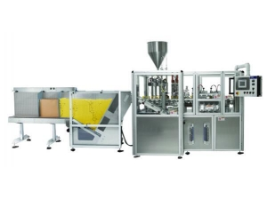 China Toothpaste Tube Filling and Sealing Machine on sale
