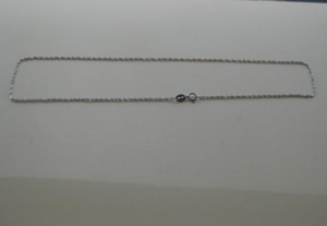 China 925 Sterling Silver necklace S801 Weight:0.87 g on sale