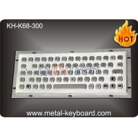 China Vandal Resistance Industrial Computer Keyboard / 65 Keys Touchpad Ruggedized Keyboard on sale