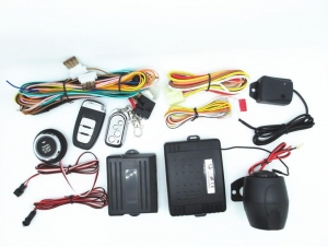 China Smartphone-controled/gps /gsm/pke/push button starter/full remote control alarm on sale