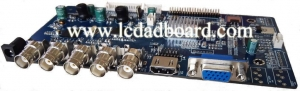 China Special AD Board JZ-SV59 SDI LCD AD BOARD on sale