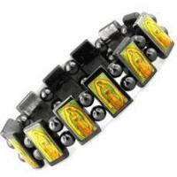 China Religious Hematite Magnetic Bracelet on sale
