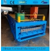 China double layerglazed tile roll forming machine for sale