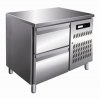China T10F 2 drawer AIR Cooling Countertop Freezer Kitchen Worktable Refrigerator -18~-10℃ for sale