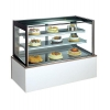 China Flat Glass Standing Cake Cooler for sale