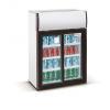 China Sliding Door Mini Cooler For Beverage for sale