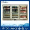 China 3 Doors Stianless Steel Back Bar Cooler,Underbar Freezer,CE,CB,MEPS,GAS Approved_LG-330B for sale