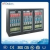 China Dukers 3 Doors Beer Cooler With 330L Bar freezer for sale