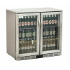China Dukers 208L Stainless Steel Back Bar Cooler, Display Cooler for sale