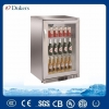 China Dukers 138L Stainless Steel Back Bar Cooler, Beer Cooler With Single Door for sale