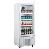 China 1 Door Direct Cooling Upright Showcase Without Canopy for sale