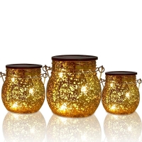 China Solar light hanging galss Jar for outdoor decorative solar lanterns Products on sale