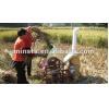 China Mobile rice threshing machine for sale