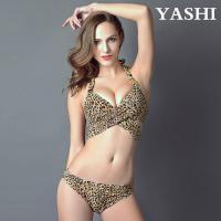 Leopard Sexy Bikinis Swimwear Two Pieces Low Waisted Bikinis Set Beach Plus Size Swimwear