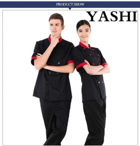 China Uniform Unisex Hotel Chef Uniform/Restaurant Uniforms on sale