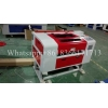 China Red color honeycomb table laser cutting and engraving machine laser machine 6040 for sale