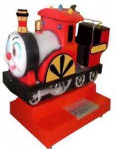 China Little red train kiddy ride machine on sale