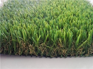 China Four colour garden decotation use S shape artificial grass for landscaping on sale