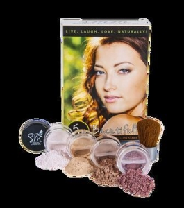 China Beautifully Bare Skin Illuminizer Mineral Makeup Kit | Vibrant Complexion Instantly on sale