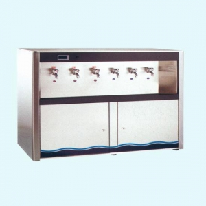 China NSC-W900(B6P)cabinet type six-faucet water dispenser stainless steel water dispenser on sale