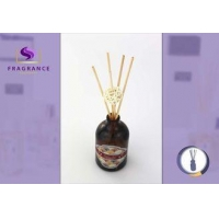 China Environmental 100ml Cotton Home Fragrance Diffuser Oil Diffuser With Reed Sticks on sale