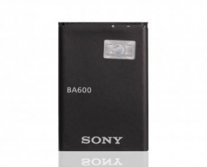 China BA600 Battery For Sony Ericsson cell Phone Kumquat LT22 LT22i Nyphon ST25 ST25i Xperia P Xperia U on sale