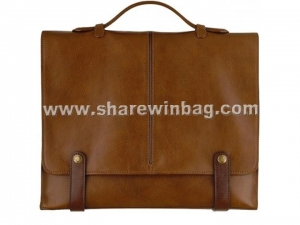 China High quality luxury mens leather briefcase on sale