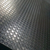 China Antiflaming rubber sheet with coin pattern for sale